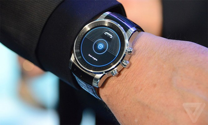 Smartwatch LG para Audi