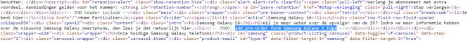Código fuente que menciona al Samsung Galaxy S Edge