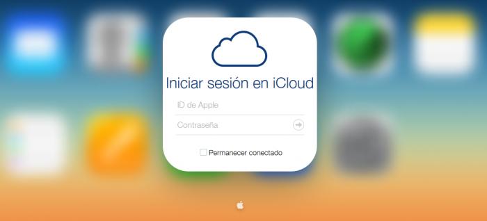 iCloud web