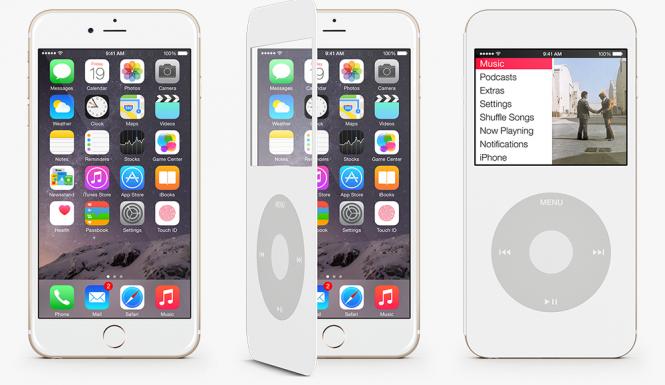 iPod Cover para iPhone 6 diseñada por Claudio Gomboli