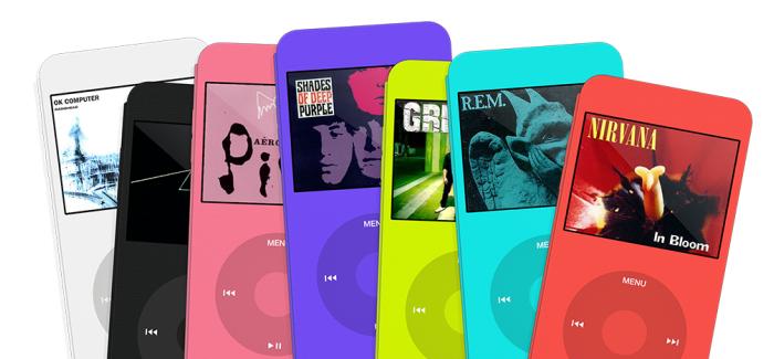 iPod Cover en varios colores