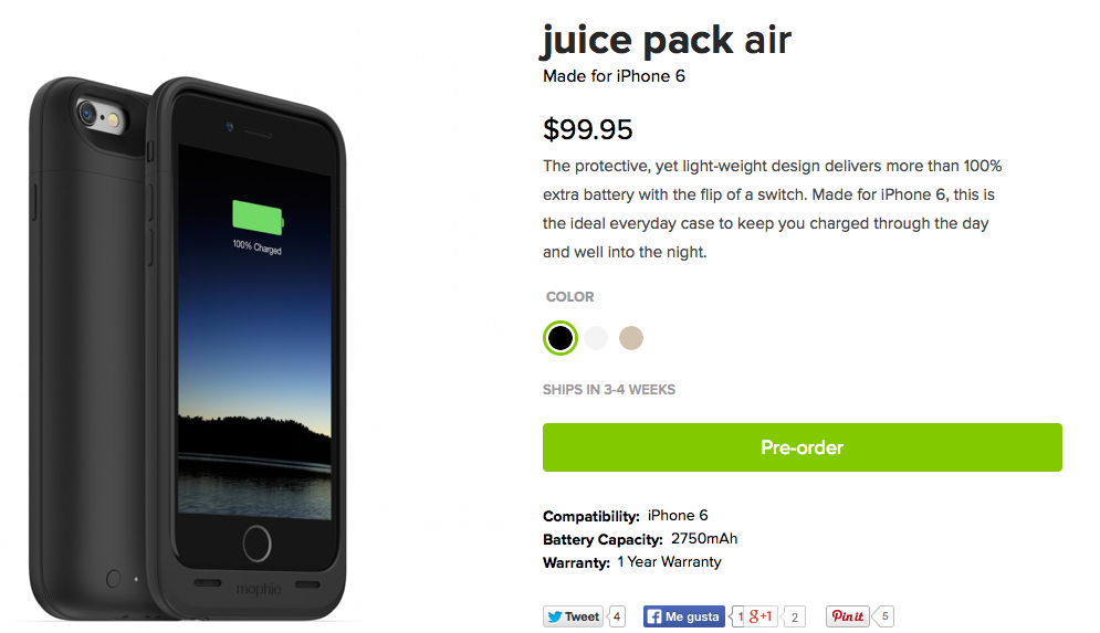 mophie-juice pack air iphone6