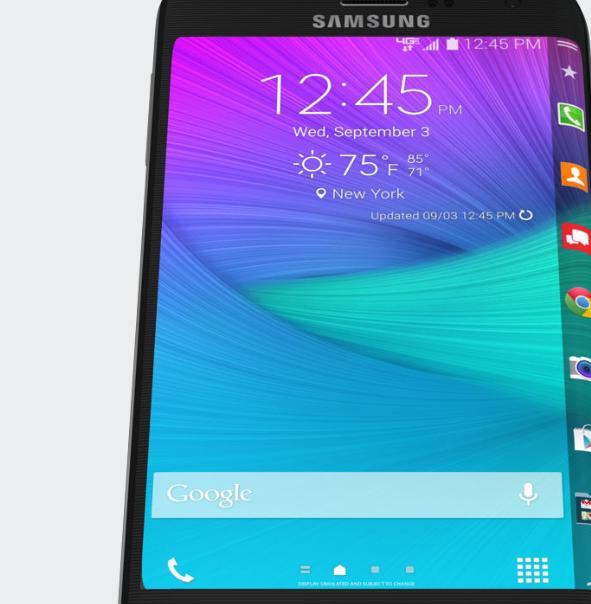 Galaxy Note Edge en Verizon
