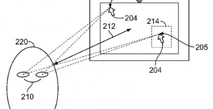 patente apple rastreo ocular