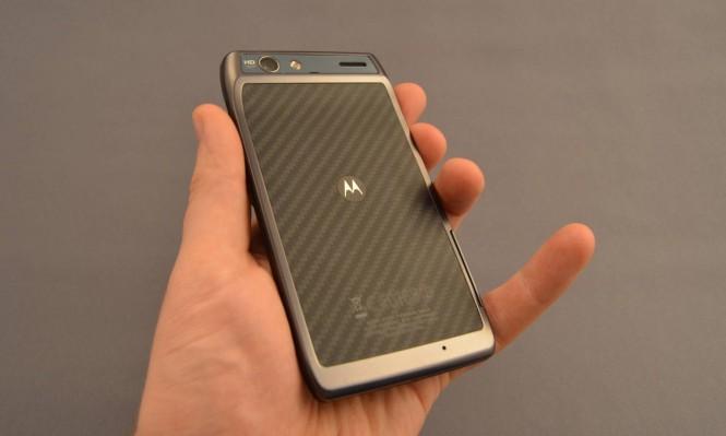 Kevlar usado en la cubierta trasera del Motorola RAZR
