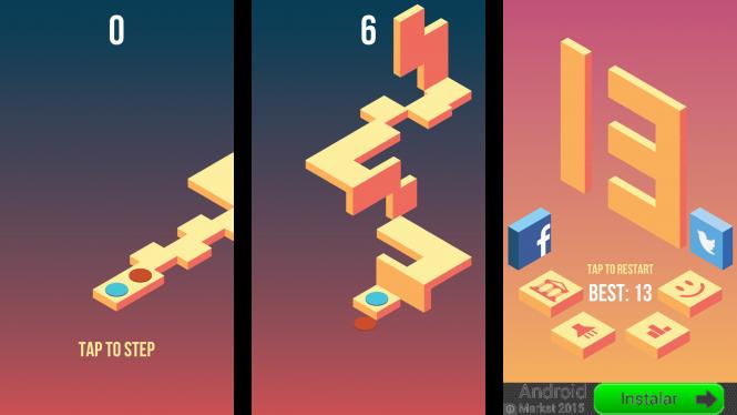 Skyward combina perspectiva y habilidad en un juego sumamente adictivo