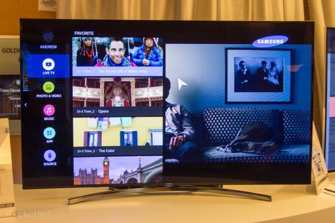 TV Samsung con Tizen en la Conferencia de Desarrolladores de Tizen del 2014