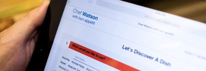 Chef Watson nos admitirá pedir recetas a la supercomputadora de IBM