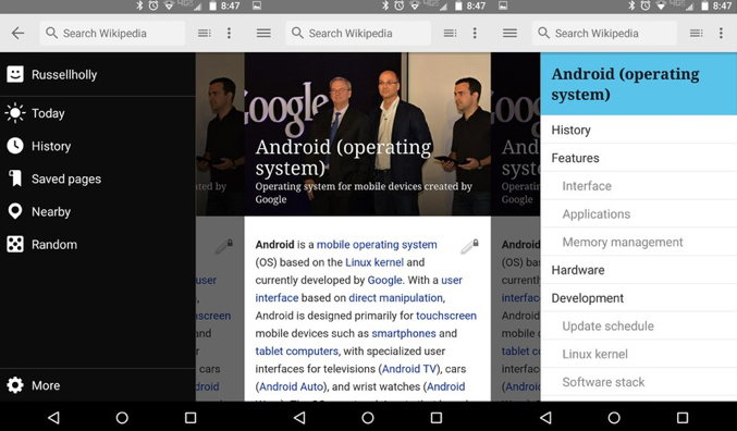 wikipedia app android