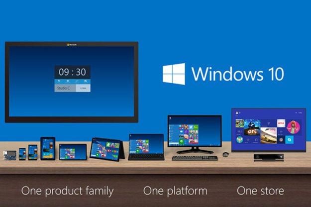 windows10 plataforma