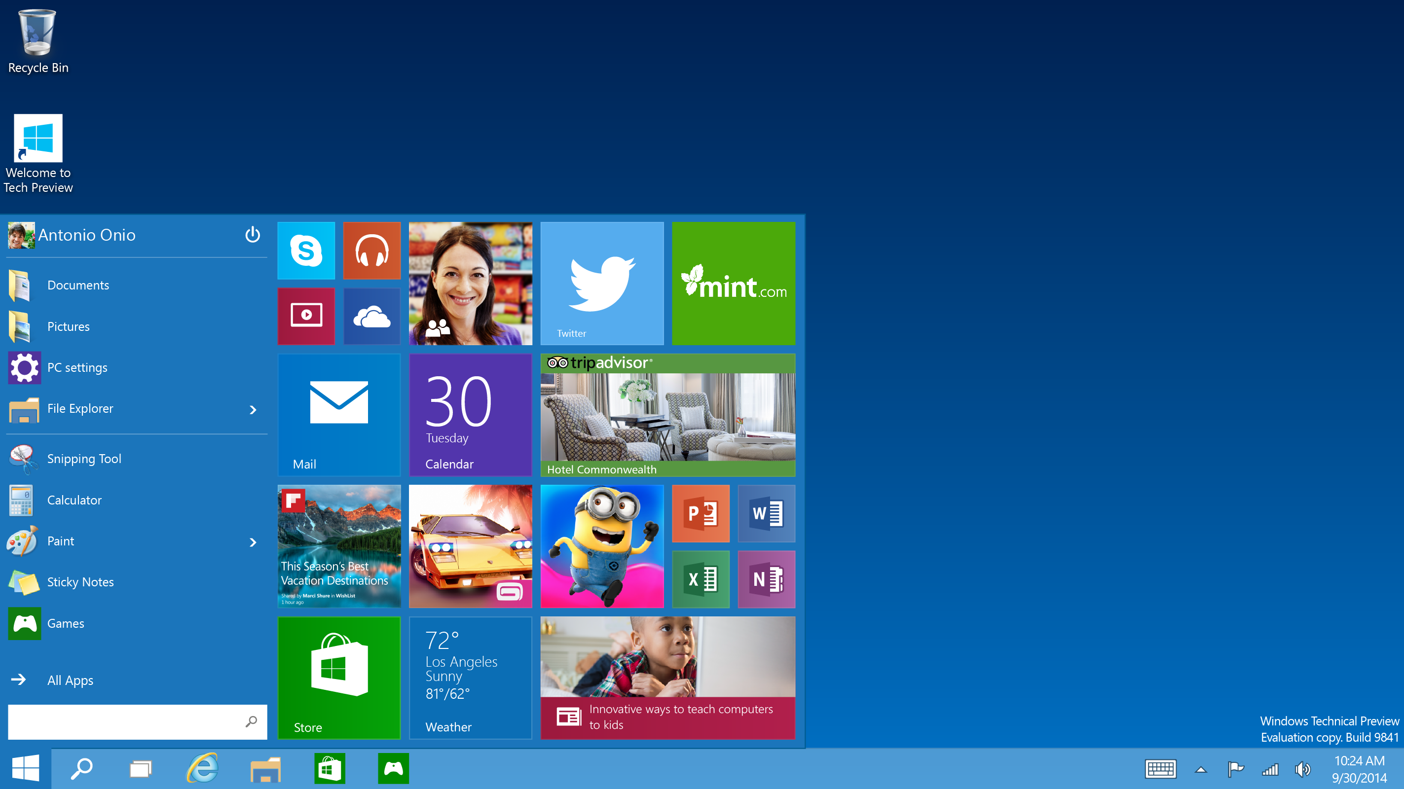 Windows 10 Technical Preview disponible para descargar ...