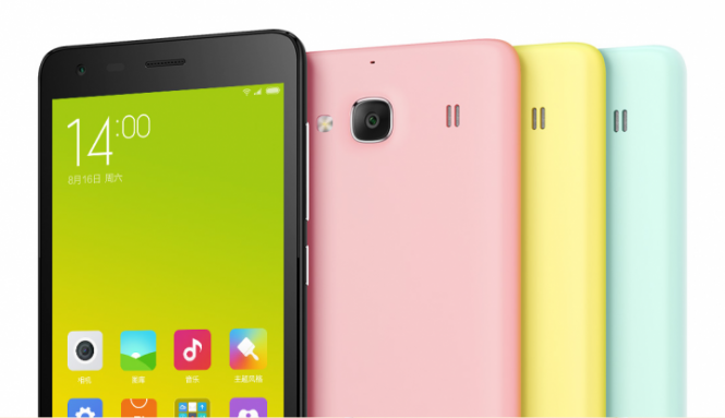 Xiaomi Redmi 2 en varios colores