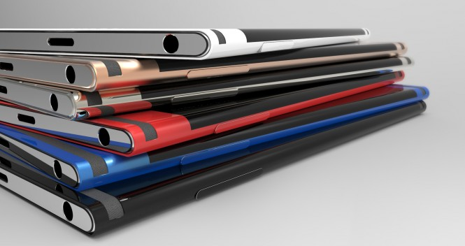 Xperia Curve, teléfono conceptual