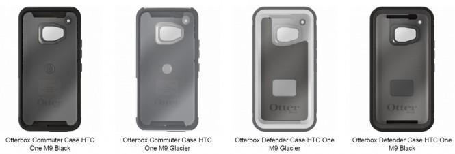 Fundas Otterbox para el HTC One M9