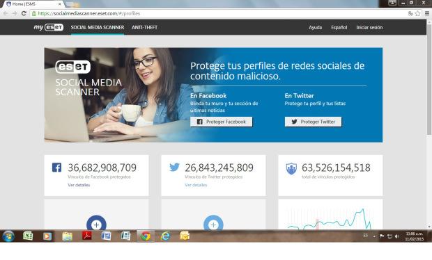 ESET-Social-Media-Scanner