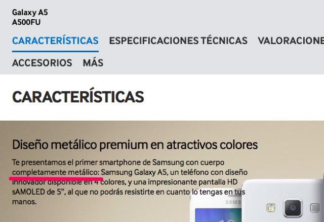 Galaxy-A5-materiales-metalicos