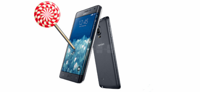 Galaxy Edge Android Lollipop