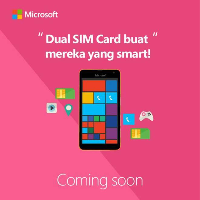 Imagen de Microsoft Indonesia, posiblemente mostrando al Lumia 1330