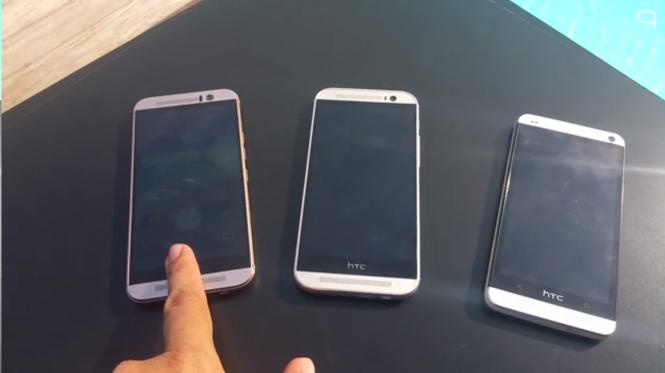 Comparativa del HTC One M9 contra el M8 y M7