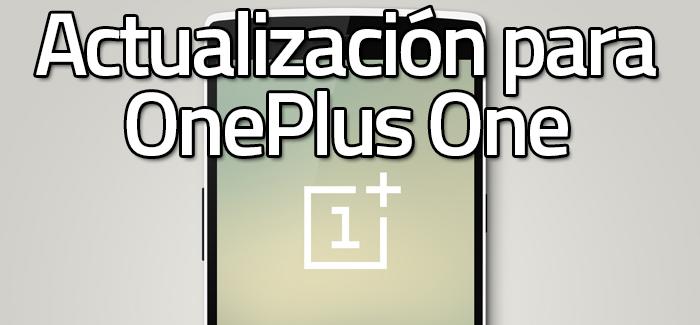 OnePlus One CM11s Update