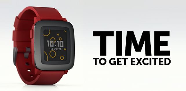 Pebble Time, el nuevo smartwatch de la compañía