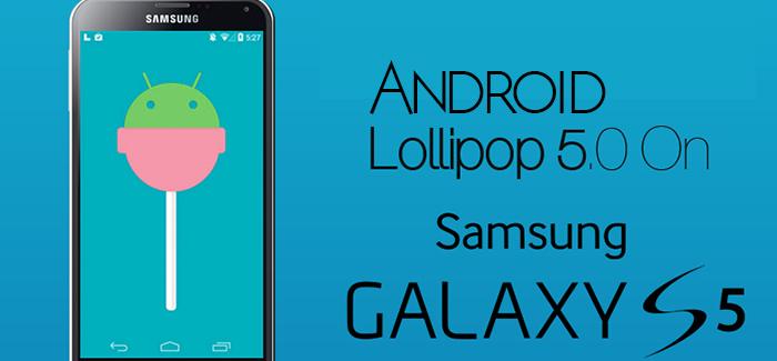 Samsung Galaxy SV Lollipop