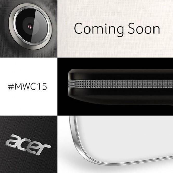 Imagen que muestra lo que Acer anunciará en el MWC 2015