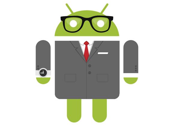 Android en traje