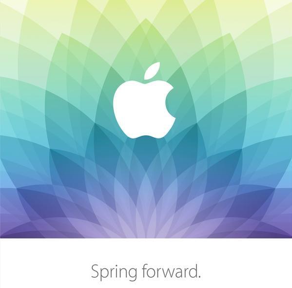 Invitación al evento de Apple el 9 de marzo