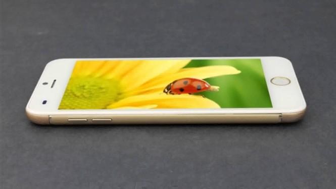 El Bird L9 mantiene los materiales premiun del iPhone 6