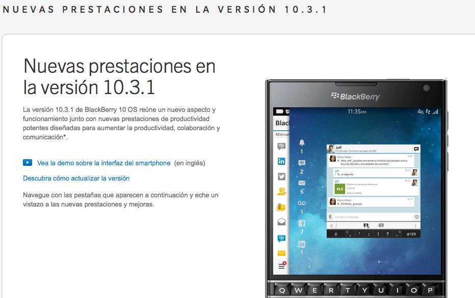 blackberry 10.3.1