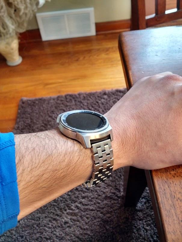 LG G Watch R lijado