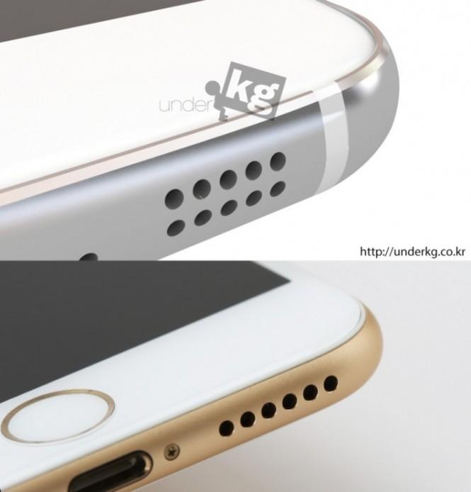 Comparación del supuesto Galaxy S6 con el iPhone 6