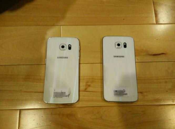 Parte trasera del Galaxy S6 y Galaxy S6 Edge