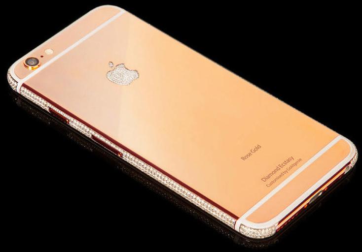 goldgenie iphone 6 oro rosa