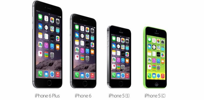 iPhone 5C 5S 6 y 6 Plus