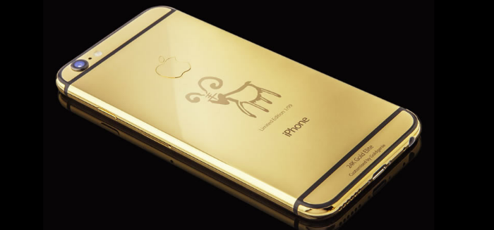 iPhone seis Gold