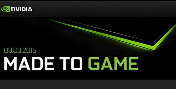 Invitación de NVIDIA para el evento del 3 de marzo