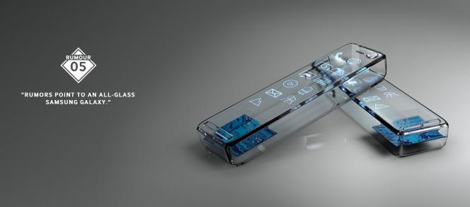 Rumor del Samsung Galaxy S6 hecho enteramente de vidrio