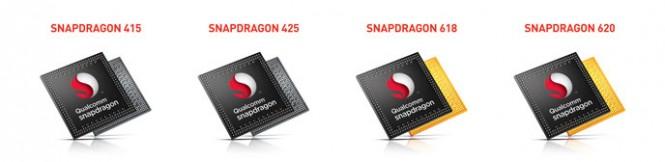Qualcomm presenta 4 nuevos procesadores