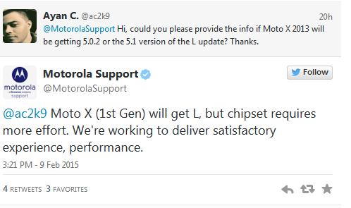 soporte android 5 a moto x