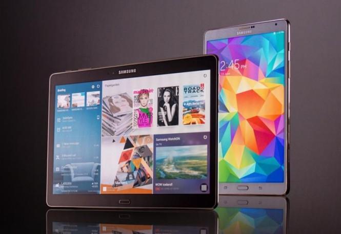 Generación actual de las Samsung Galaxy Tab S