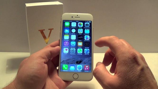 El VPhone i6 se podría considerar como la copia más exacta del iPhone 6