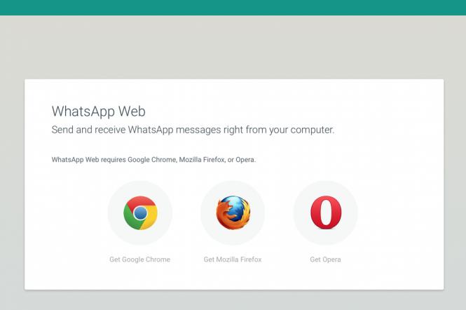Whatsapp ahora compatible con Firefox y Opera