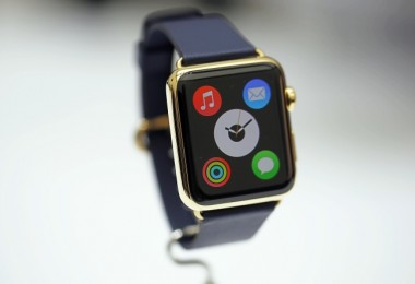La secuencia de inicio del Apple Watch captada en video.