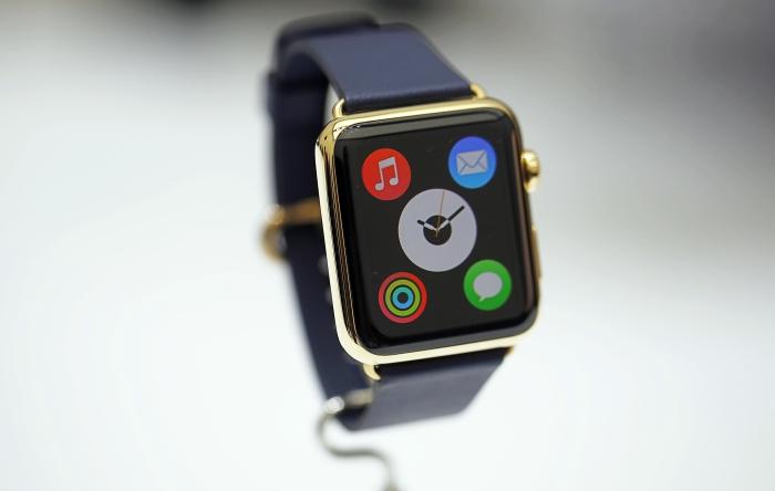 La secuencia de inicio del Apple Watch captada en video.