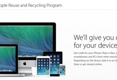 Apple programa  reciclaje e intercambio