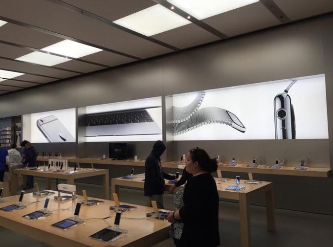 Apple store watch2