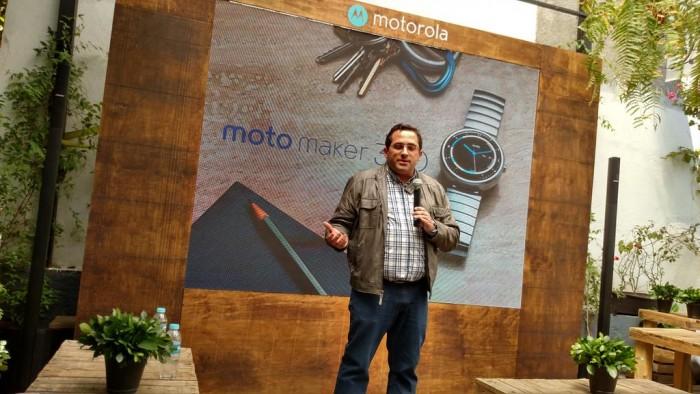 Anuncio de Moto Maker para el Moto 360 en México
