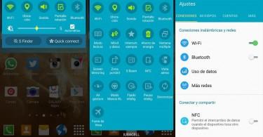 Android 5.0.1 Lollipop en Galaxy S4 de Iusacell. Foto: Twitter/@isc_villar